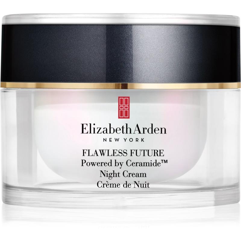 Elizabeth Arden Flawless Future Night Cream Feuchtigkeitsspendende Nachtcreme mit Ceramiden