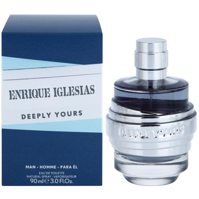 Enrique Iglesias Deeply Yours Eau de Toilette for Men 90 ml thumbnail