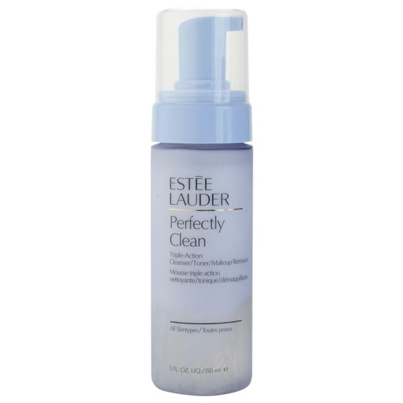 Est�e Lauder Perfectly Clean Reinigungswasser, Tonikum und Make-up - Entferner 3in1
