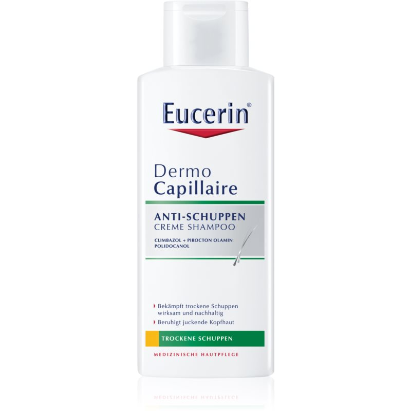 Eucerin DermoCapillaire шампоан против сух пърхот 250 мл.