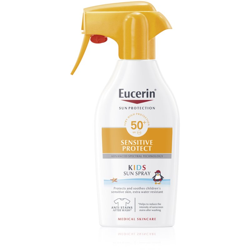 Protetor Solar Eucerin Sun Kids Sensitive Protect SPF50+ Spray Solar 300ml