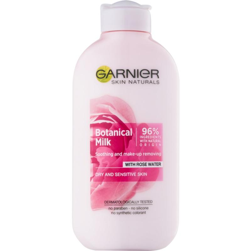 Garnier Botanical мляко за почистване на грим за суха до чувствителна кожа 200 мл.