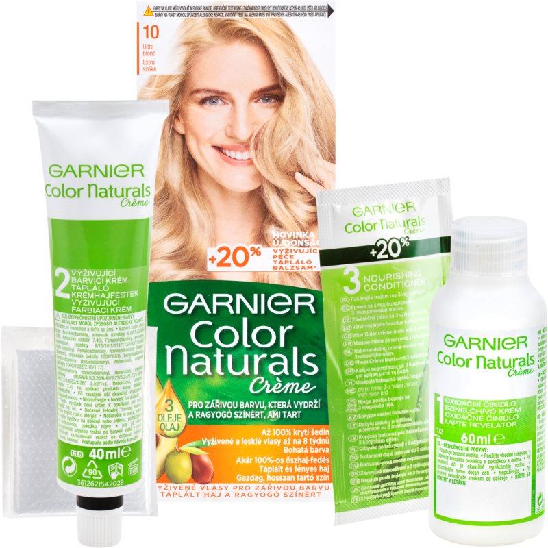 Garnier Color Naturals Creme hajfesték árnyalat 10 Natural Ultra Light Blond