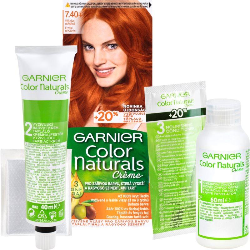 Garnier Color Naturals Creme hajfesték árnyalat 7.40 Copper Passion