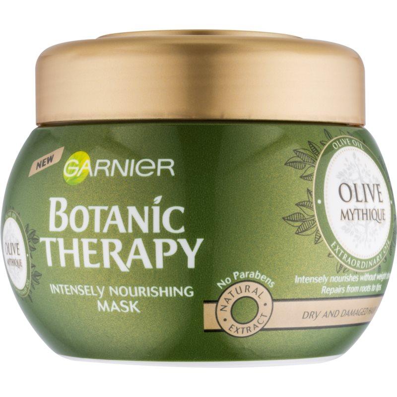 Garnier Botanic Therapy Olive tápláló maszk száraz és sérült hajra 300 ml