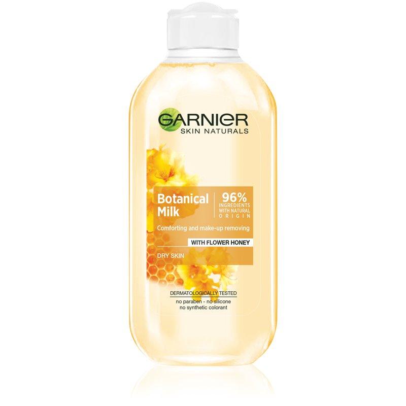 Garnier Botanical мляко за почистване на грим за суха кожа 200 мл.