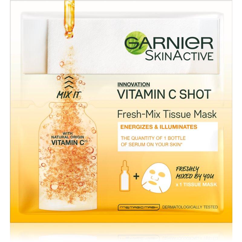 Garnier Skin Naturals Fresh Mix Mask Vitamin маска за суха кожа 33 гр.