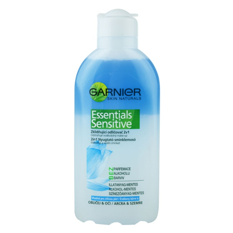 Garnier Essentials Sensitive 2in1 nyugtató sminklemosó