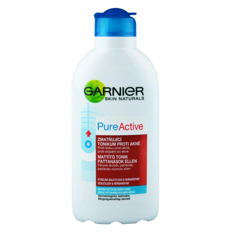 Garnier Pure Active tisztító tonik problémás és pattanásos bőrre
