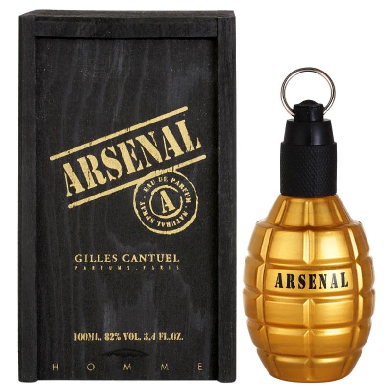 Gilles Cantuel Arsenal Gold eau de parfum pentru bărbați 100 ml thumbnail