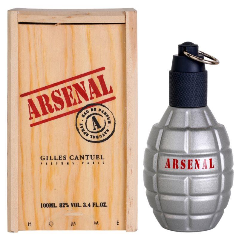 Gilles Cantuel Arsenal Grey парфюмна вода за мъже 100 мл.