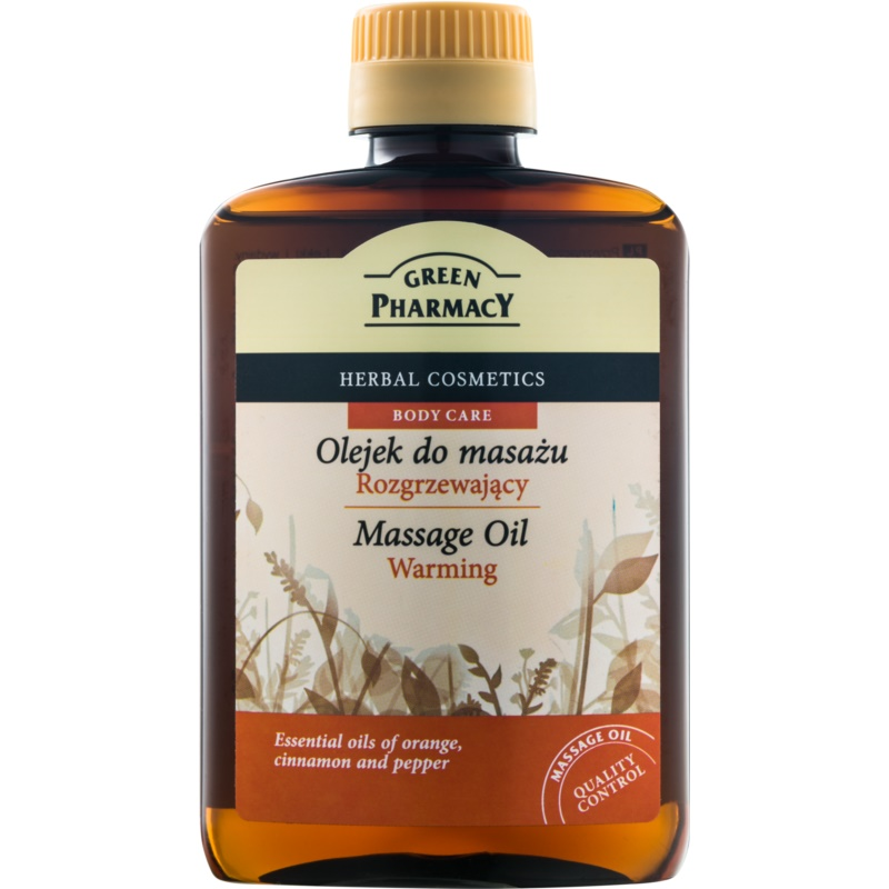 Green Pharmacy Body Care Warming Massage Oil 200 ml