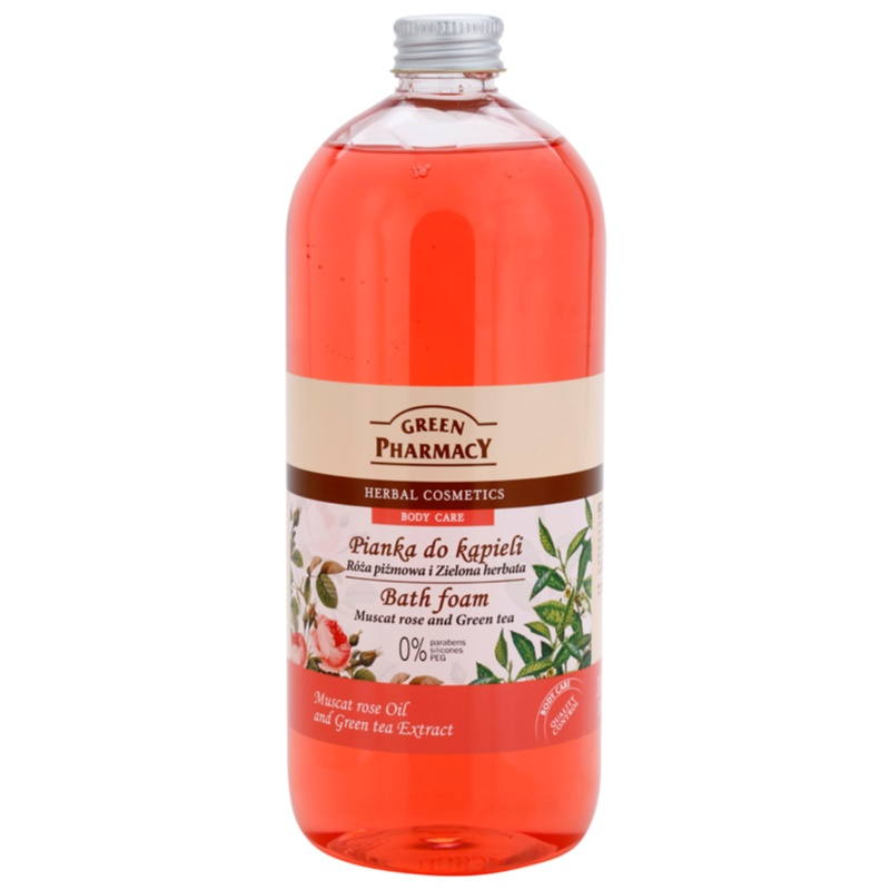 Green Pharmacy Body Care Muscat Rose & Green Tea Bath Foam 1000 ml