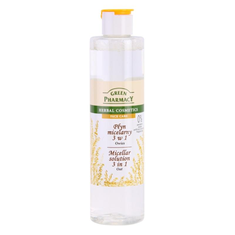 Green Pharmacy Face Care Oat Micellar Water 3 in 1 250 ml