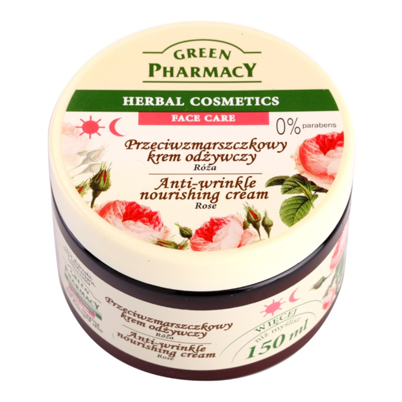 Green Pharmacy Face Care Rose Nourishing Age Defying Cream 150 ml
