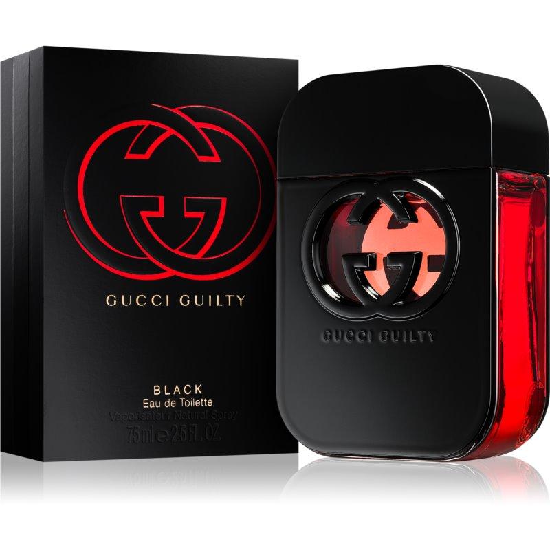 Gucci Guilty Black eau de toilette para mujer 75 ml