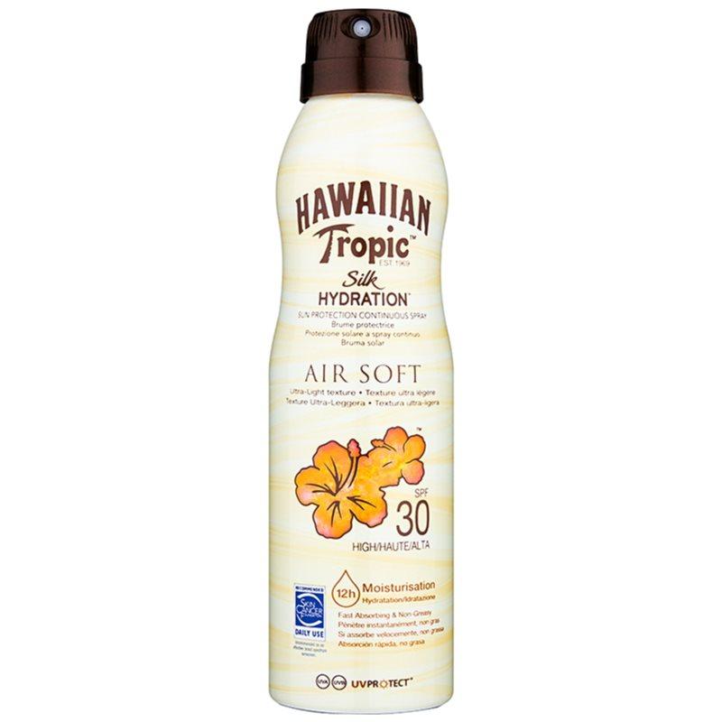 Hawaiian Tropic Silk Hydration Air Soft sprej na opaľovanie SPF 30