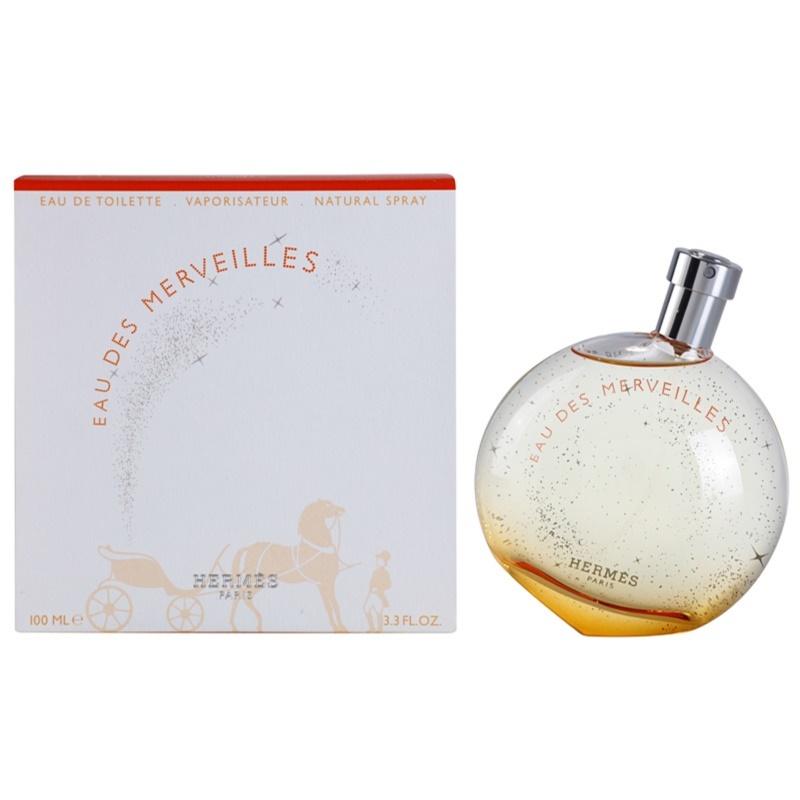 Hermès Eau des Merveilles eau de toilette para mujer 100 ml