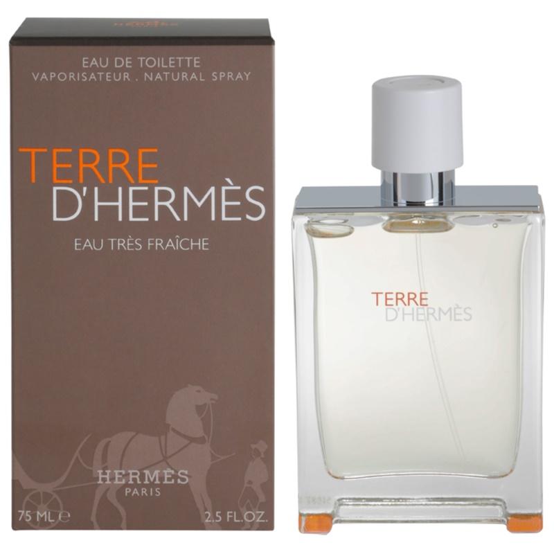 Hermès Terre d'Hermès Eau Très Fraîche eau de toilette para hombre 75