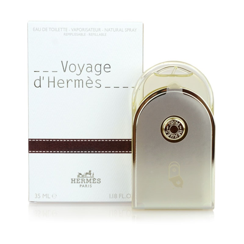 Hermès Voyage d'Hermès eau de toilette unisex 35 ml recargable