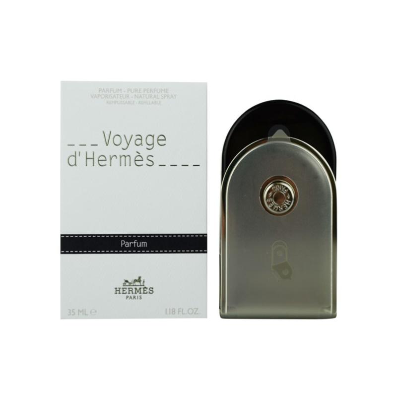 Hermès Voyage d'Hermès parfüm utántölthető unisex 35 ml