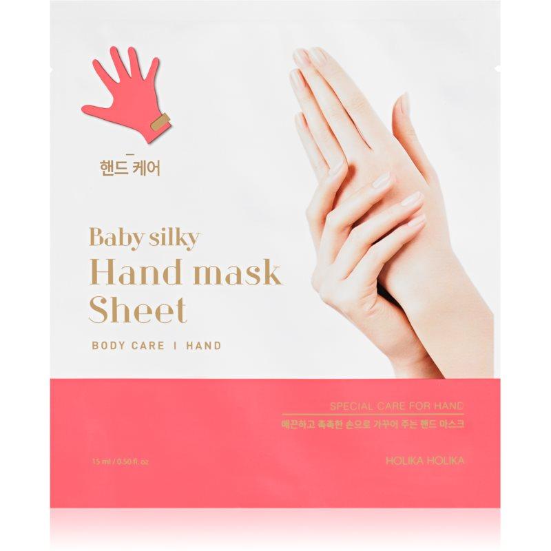 Holika Holika Baby Silky Hand guantes de tratamiento de manos especial 15 ml