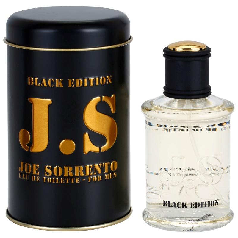 Jeanne Arthes J.S. Joe Sorrento Black Edition eau de toilette uraknak