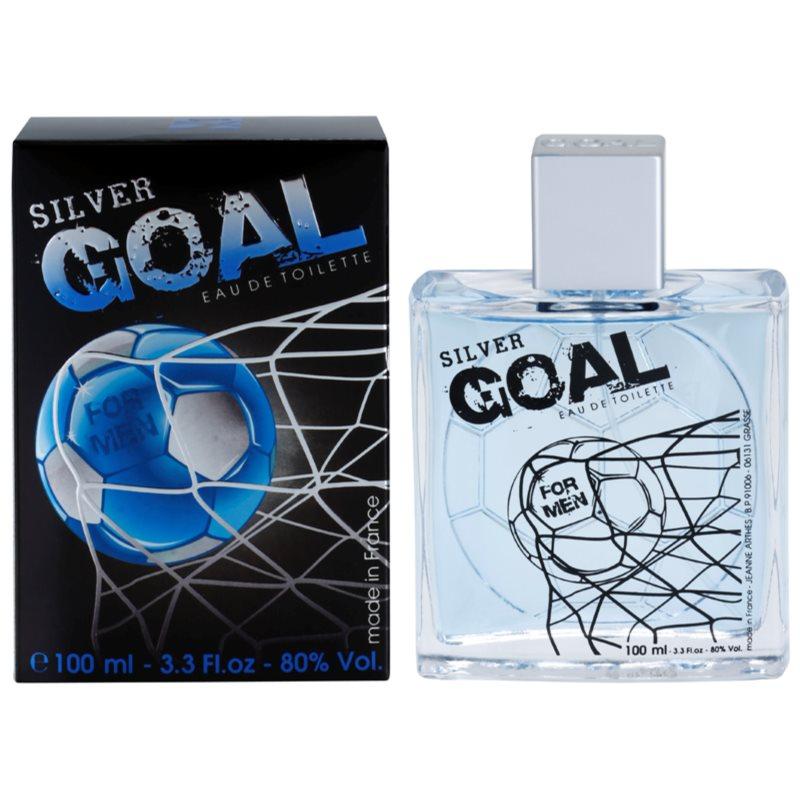 Jeanne Arthes Silver Goal eau de toilette uraknak 100 ml
