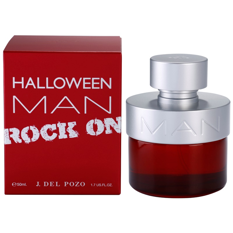 Jesus Del Pozo Halloween Man Rock On eau de toilette para hombre 50 ml
