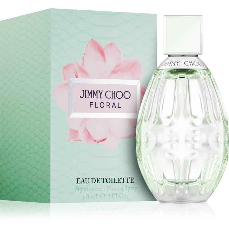 Jimmy Choo Floral Eau de Toilette hölgyeknek 60 ml