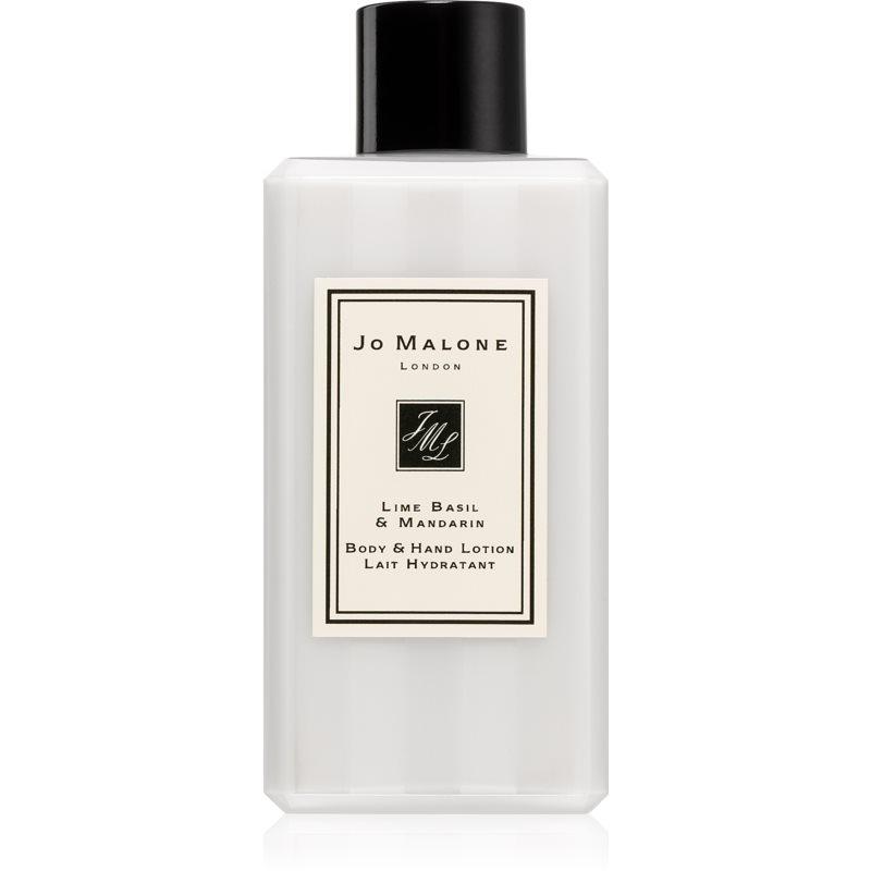 Jo Malone Lime Basil & Mandarin hedvábné tělové mléko 100 ml