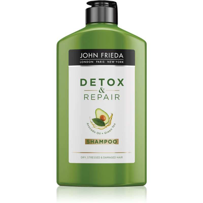 John Frieda Detox & Repair čisticí detoxikační šampon pro poškozené vlasy 250 ml