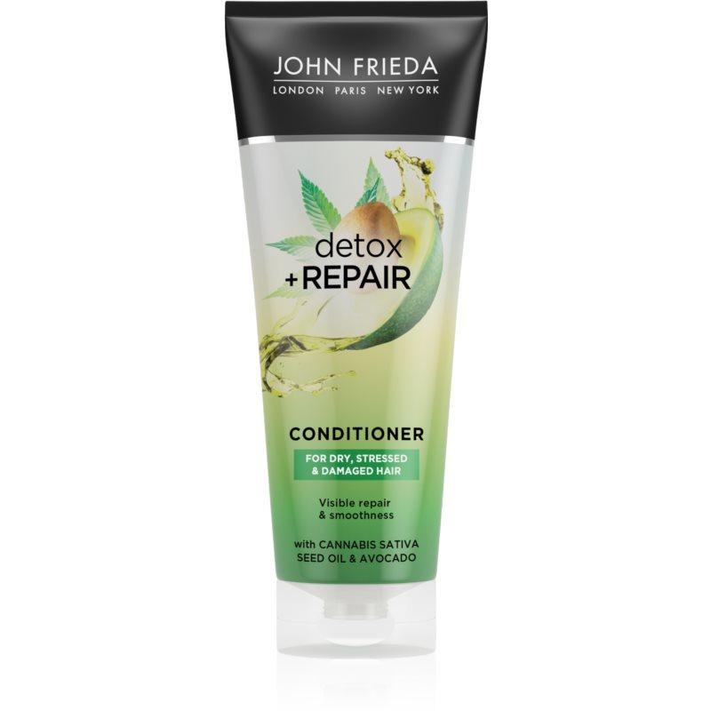 John Frieda Detox & Repair čisticí detoxikační kondicionér pro poškozené vlasy 250 ml