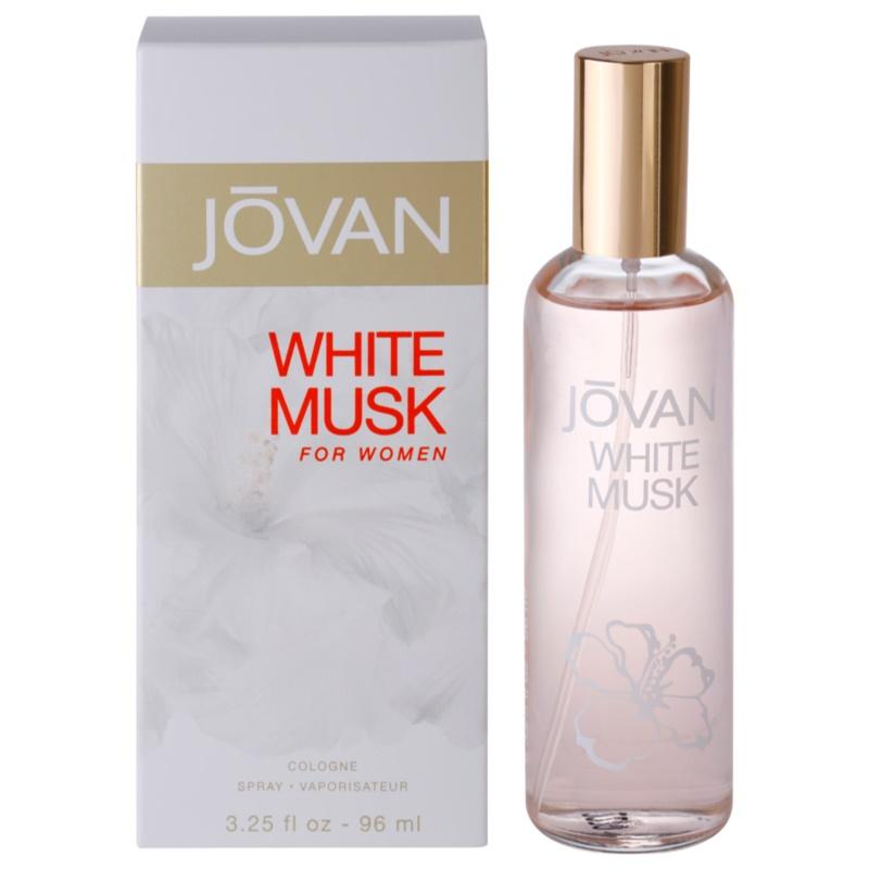 Jovan White Musk Eau de Cologne hölgyeknek 96 ml