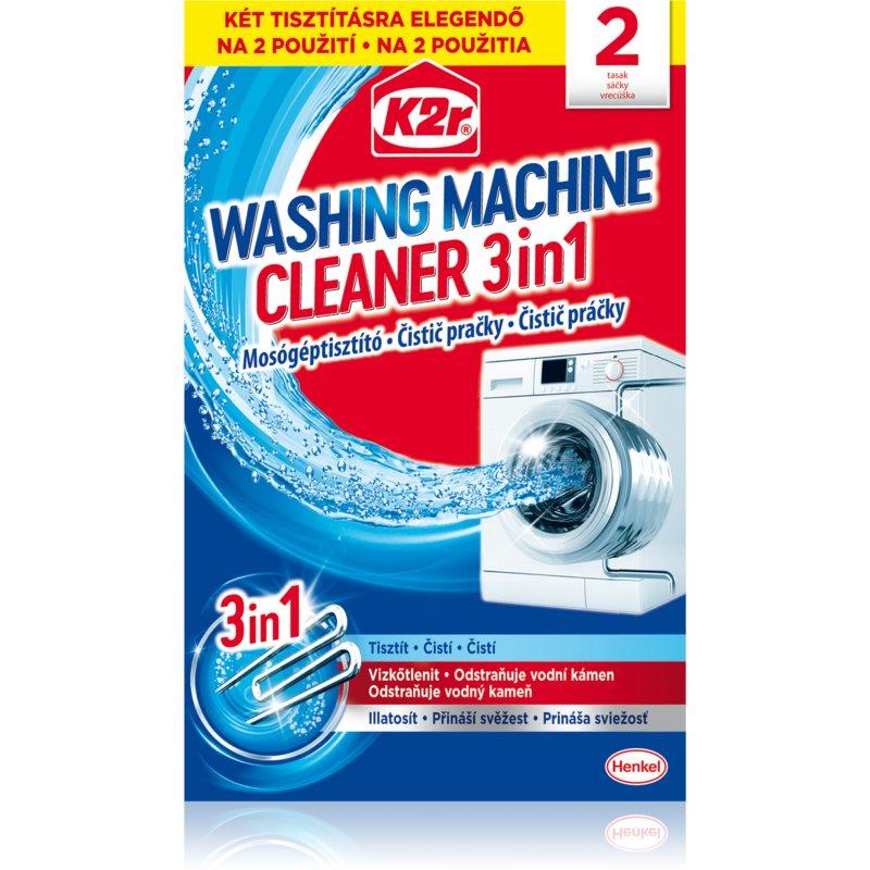 K2r Washing Maschine Cleaner mosógéptisztító 2 db