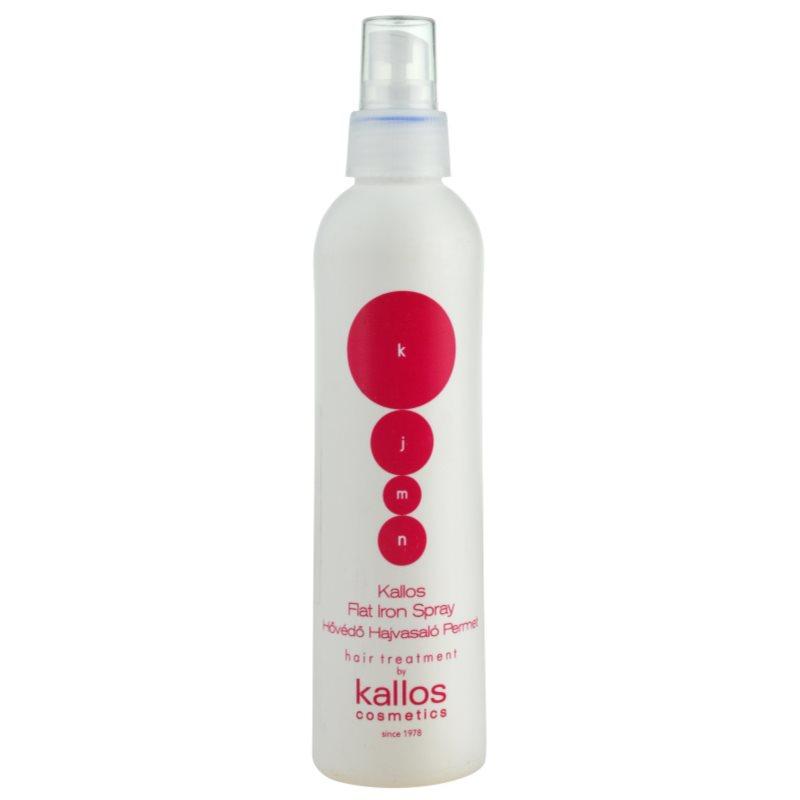 Kallos KJMN védő spray a hajformázáshoz, melyhez magas hőfokot használunk 200 ml