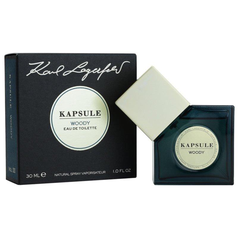 Karl Lagerfeld Kapsule Woody eau de toilette unisex 30 ml