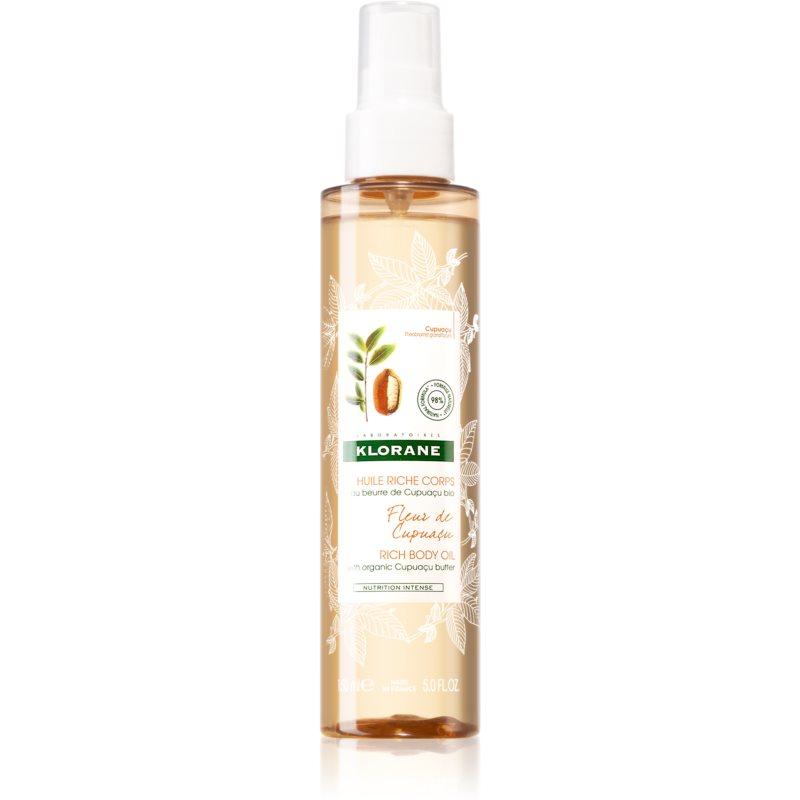 Klorane Cupuaçu Fleur de Cupuacu óleo corporal nutritivo 150 ml