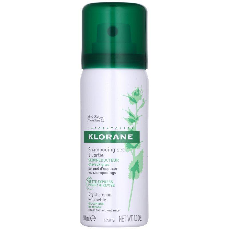 Klorane Nettle suchý šampón pre mastné vlasy 50 ml