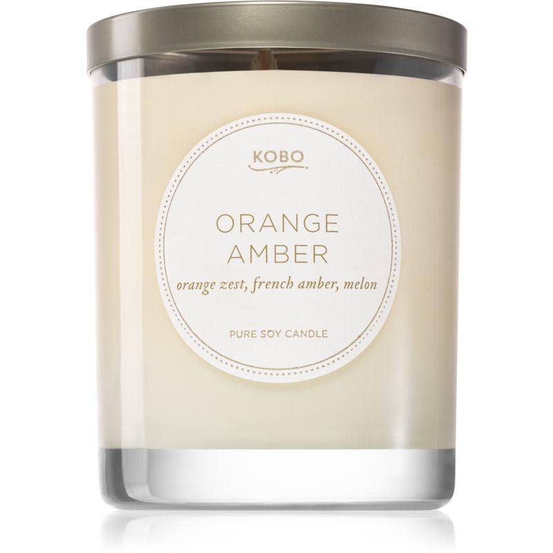 KOBO Motif Orange Amber illatos gyertya 312 g