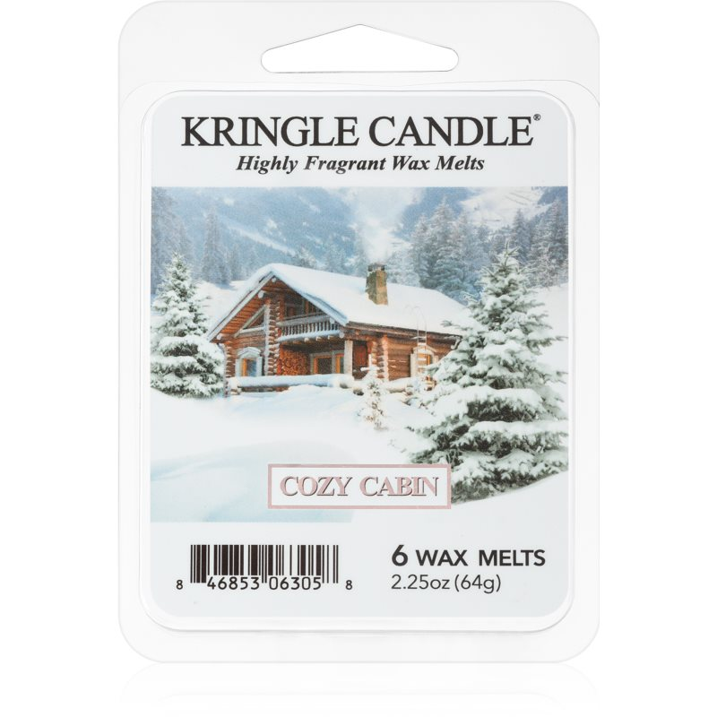 Kringle Candle Cozy Cabin vosk do aromalampy 64 g