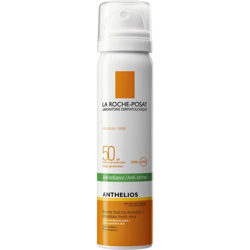 La Roche-Posay Anthelios spray revigorant pentru față anti-strălucire SPF 50 75 ml thumbnail