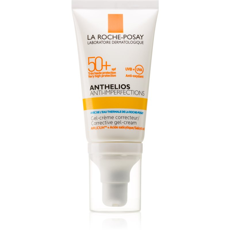 La Roche-Posay Anthelios Anti-Imperfections crema gel matifiant impotriva imperfectiunilor pielii SPF 50+ 50 ml thumbnail