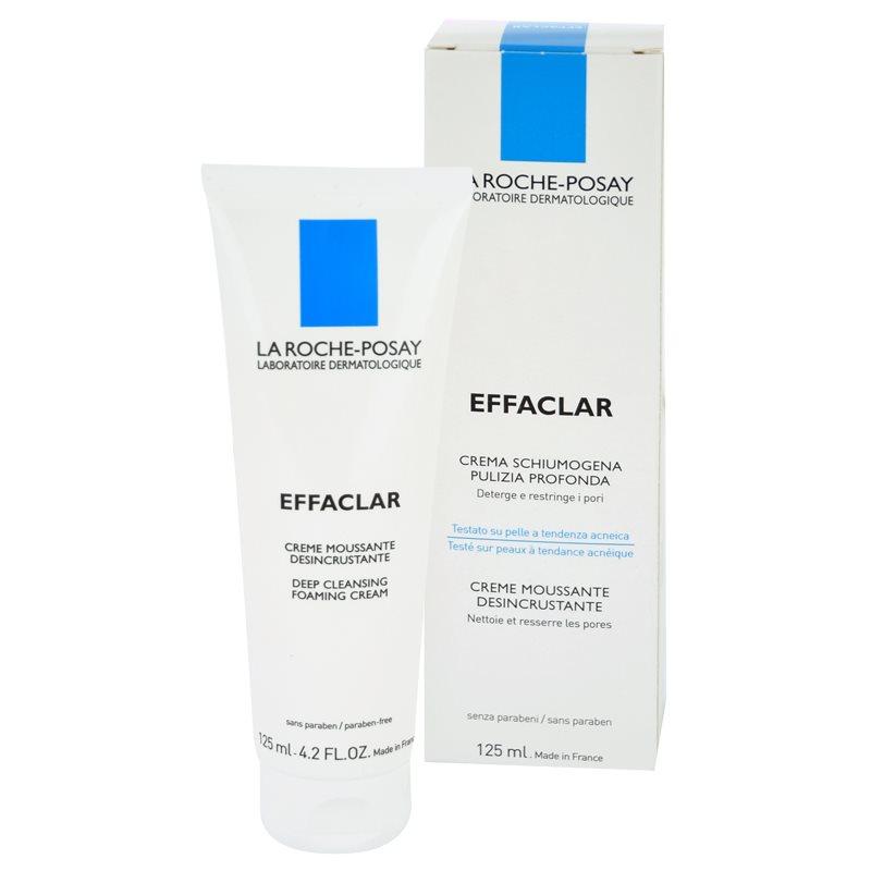 La Roche-Posay Effaclar crema de curatare sub forma de spuma pentru ten acneic 125 ml thumbnail