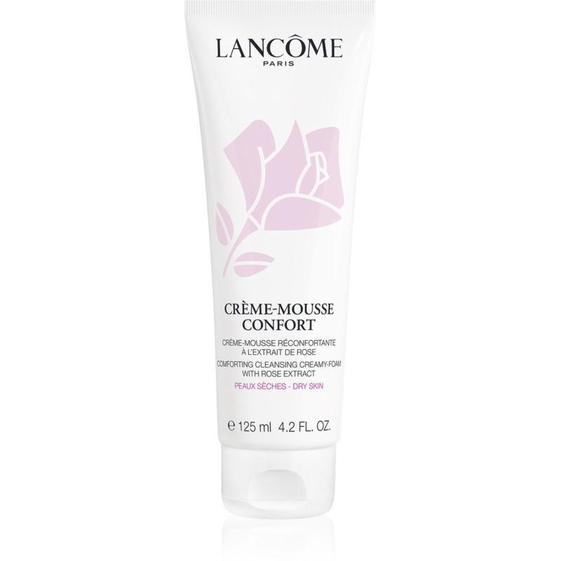 Lancôme Crème-Mousse Confort espuma de limpeza apaziguador para pele seca 125 ml