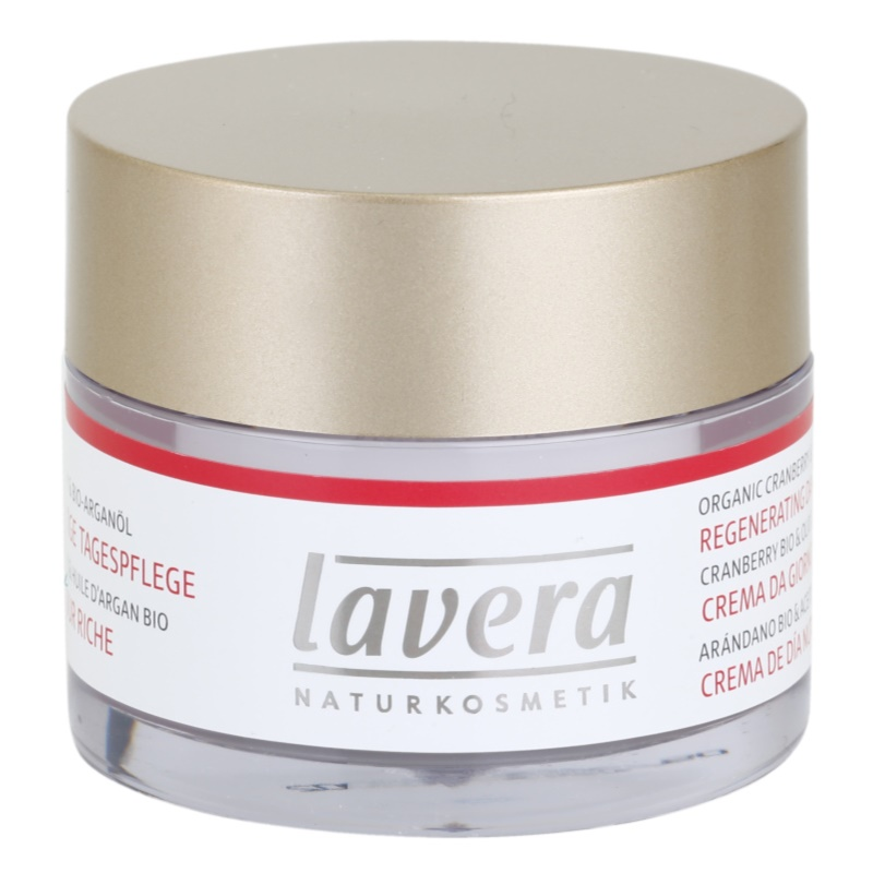 Lavera Faces Bio Cranberry and Argan Oil denný regeneračný krém 45 50 ml