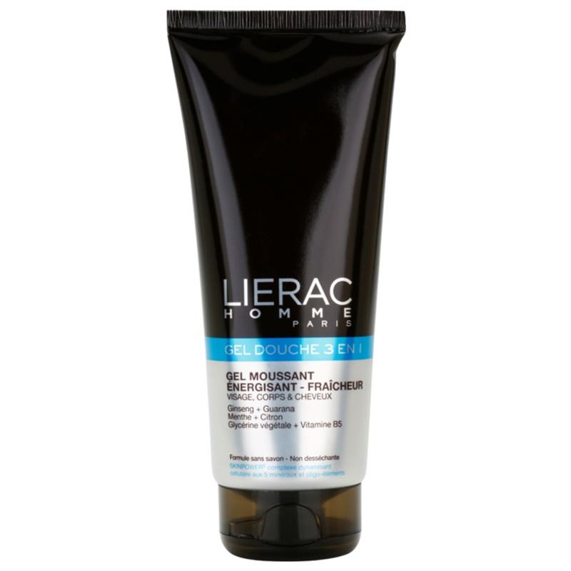 Lierac Homme tusfürdő gél arcra, testre és hajra uraknak