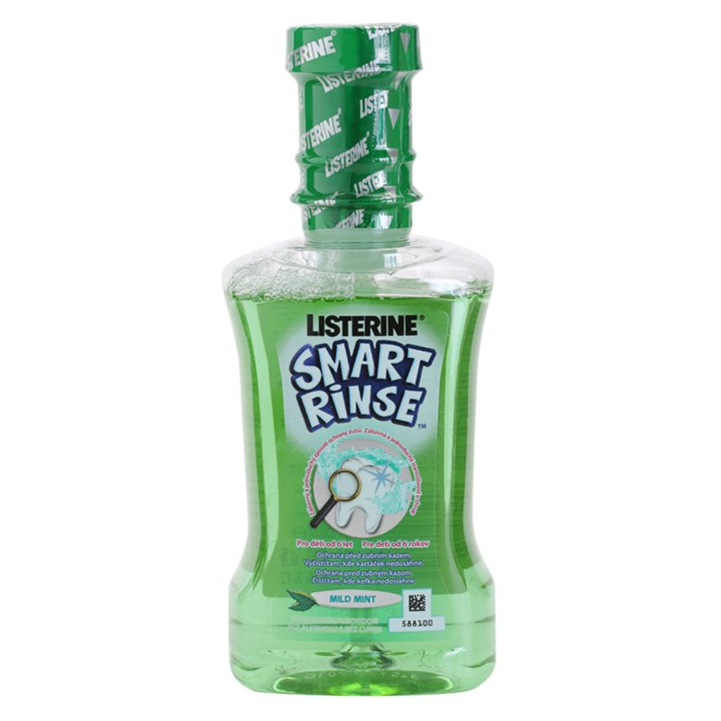 Listerine Smart Rinse Mild Mint Elixir 250ml