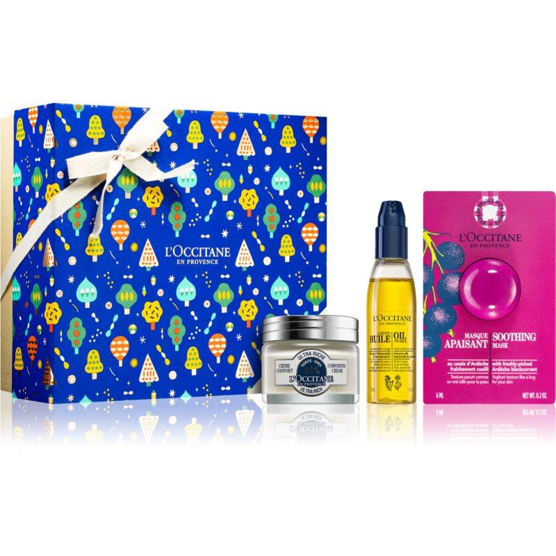 L'Occitane Karité подаръчен комплект (за успокояване на кожата) за жени