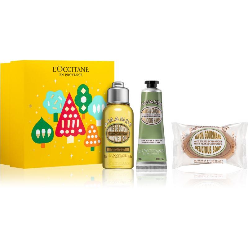 L'Occitane Amande подаръчен комплект Almond (за жени )